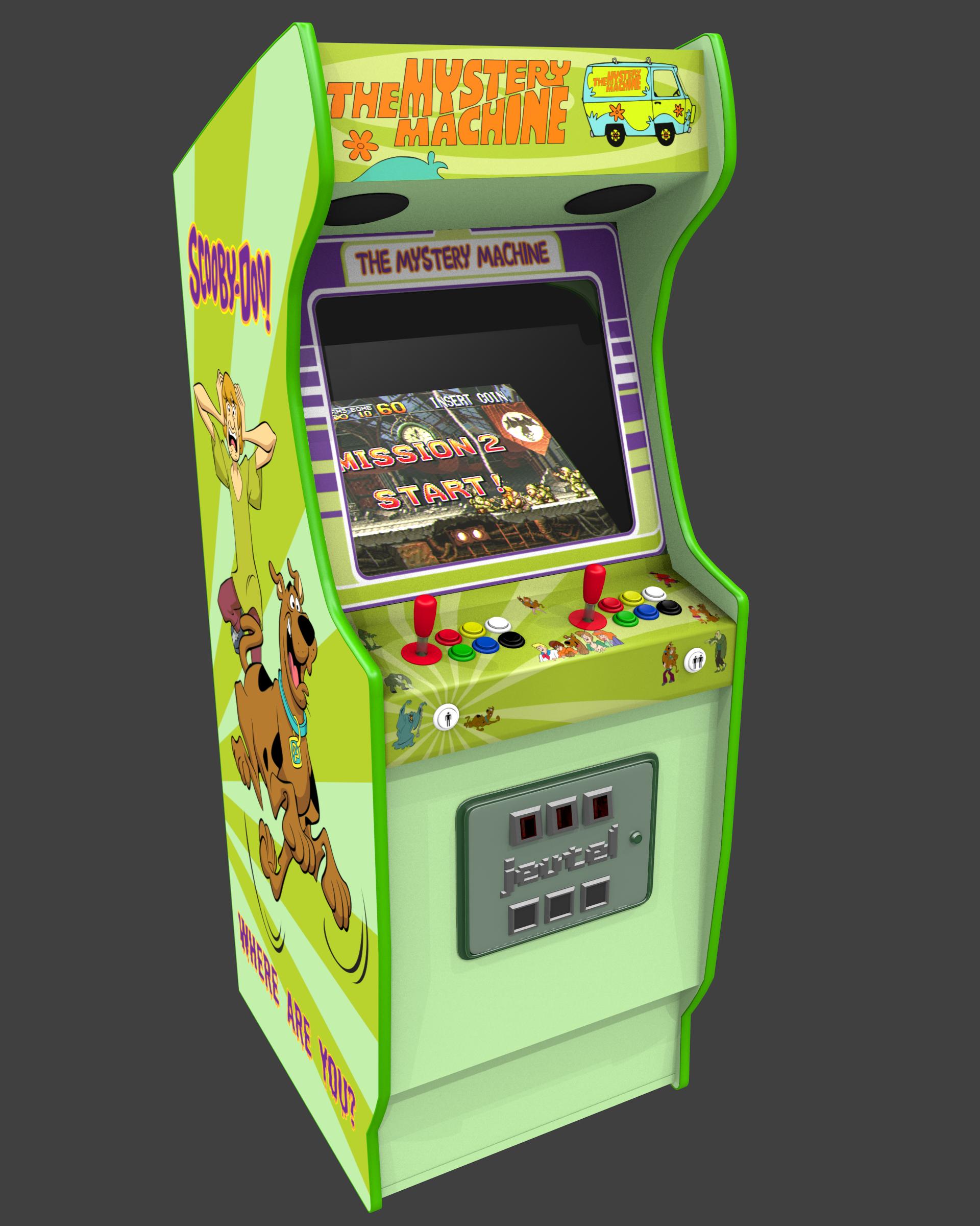 borne arcade linux