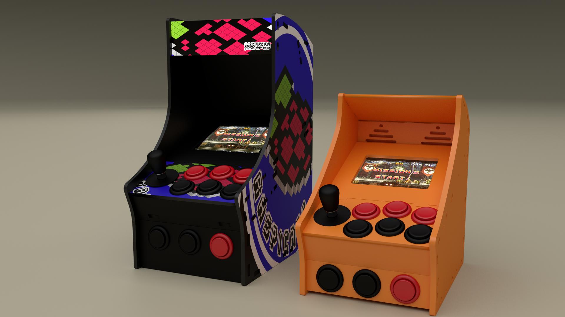 borne arcade imprimante 3d